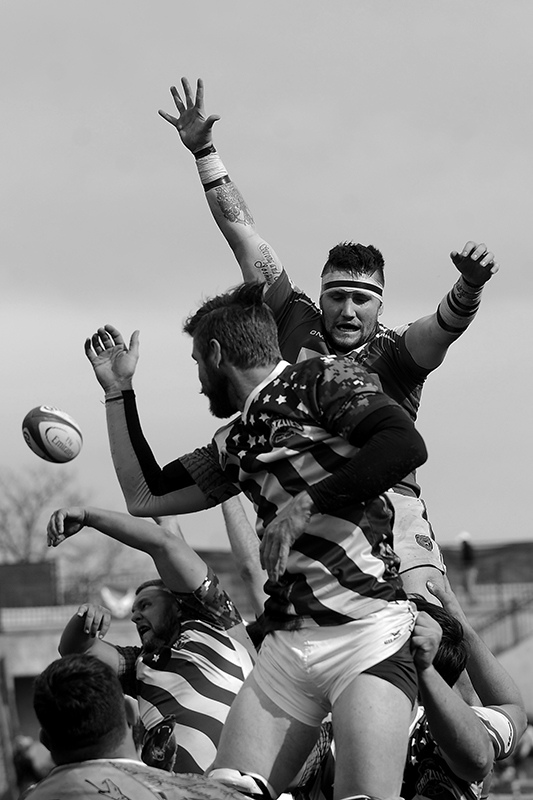 GLENDALE, CO - MARCH 5: Raptors D2 vs Colorado Springs D2 rugby at Infinity Park in Glendale, Colorado on March 5, 2016. (Photo by Seth McConnell)