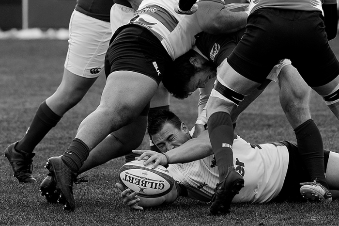 GLENDALE, CO - MARCH 26: Glendale Raptors vs Olympic Club RFC at Infinity Park in Glendale, Colorado on March 26, 2016. (Photo by Seth McConnell)